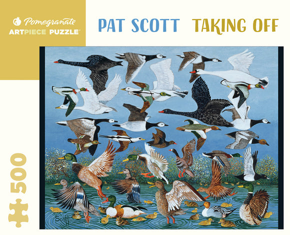 Pat Scott 500 Piece Puzzle - Taking Off