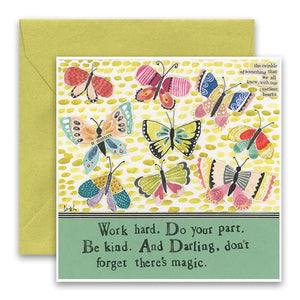 Curly Girl Card - Don't Forget Magic