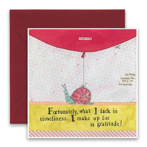 Curly Girl Card - Gratitude