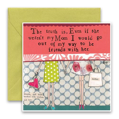 Curly Girl Card - Mom