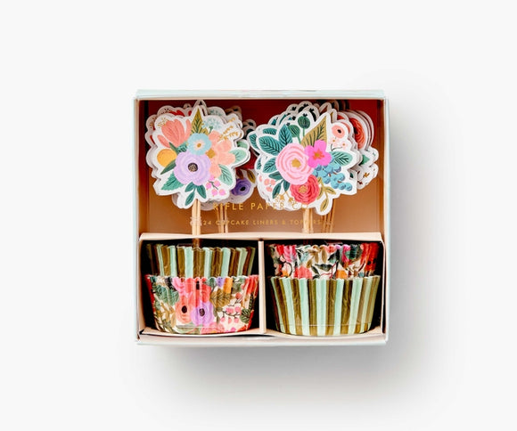 Rifle Paper Co. Cupcake Kit - Garden Party