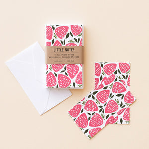 Hazelmade Little Note Sets - Strawberries