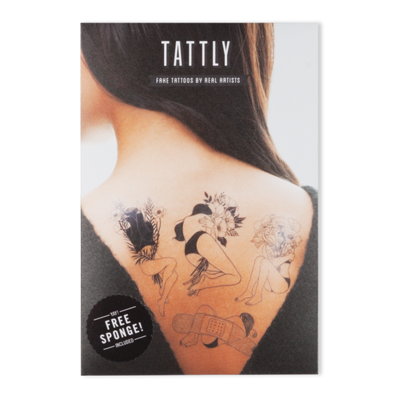Tattly Temporary Tattoo Set - Melancholia