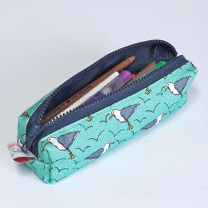Poppy Treffry Pencil Case - Seagulls
