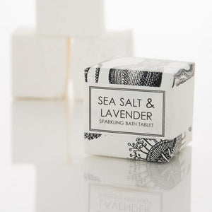 Formulary 55 Shea Sparkling Bath Tablet - Sea Salt & Lavender