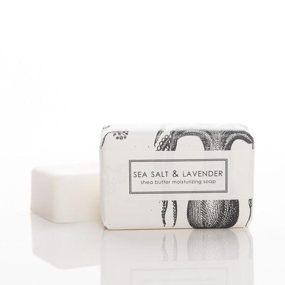 Formulary 55 Shea Butter Soap - Sea Salt & Lavender Bath Bar