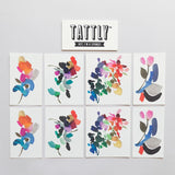 Tattly Temporary Tattoo Set - Abstract Florals