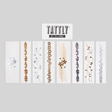 Tattly Temporary Tattoo Set - Brilliant Bracelets