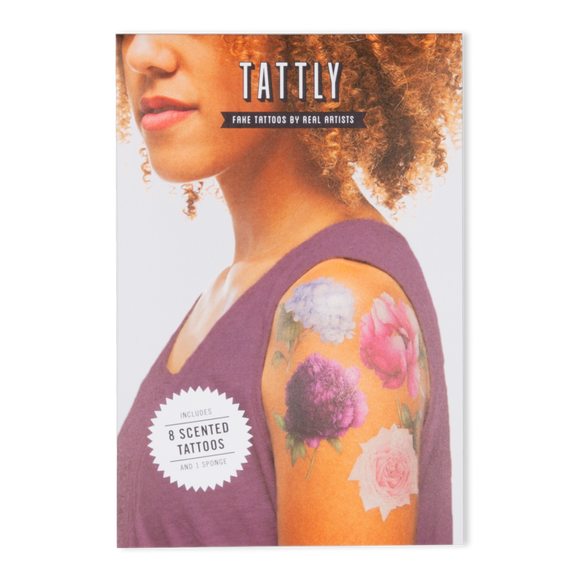 Tattly Temporary Tattoo Set - Perennial (Scented)