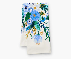 Rifle Paper Co. Tea Towel - Garden Party Blue