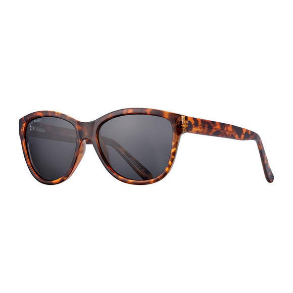 Blue Planet Sunnies - Jordyn in Walnut Tortoise/Smoke