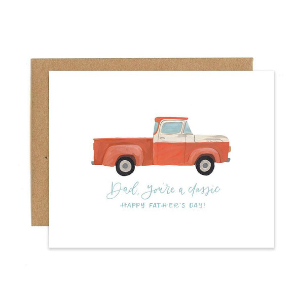 1canoe2 Card - Father's Day Truck