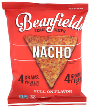 Load image into Gallery viewer, Beanfields Bean & Rice Chips Nacho