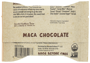 Bearded Bros Mega Maca Chocolate Energy Bar