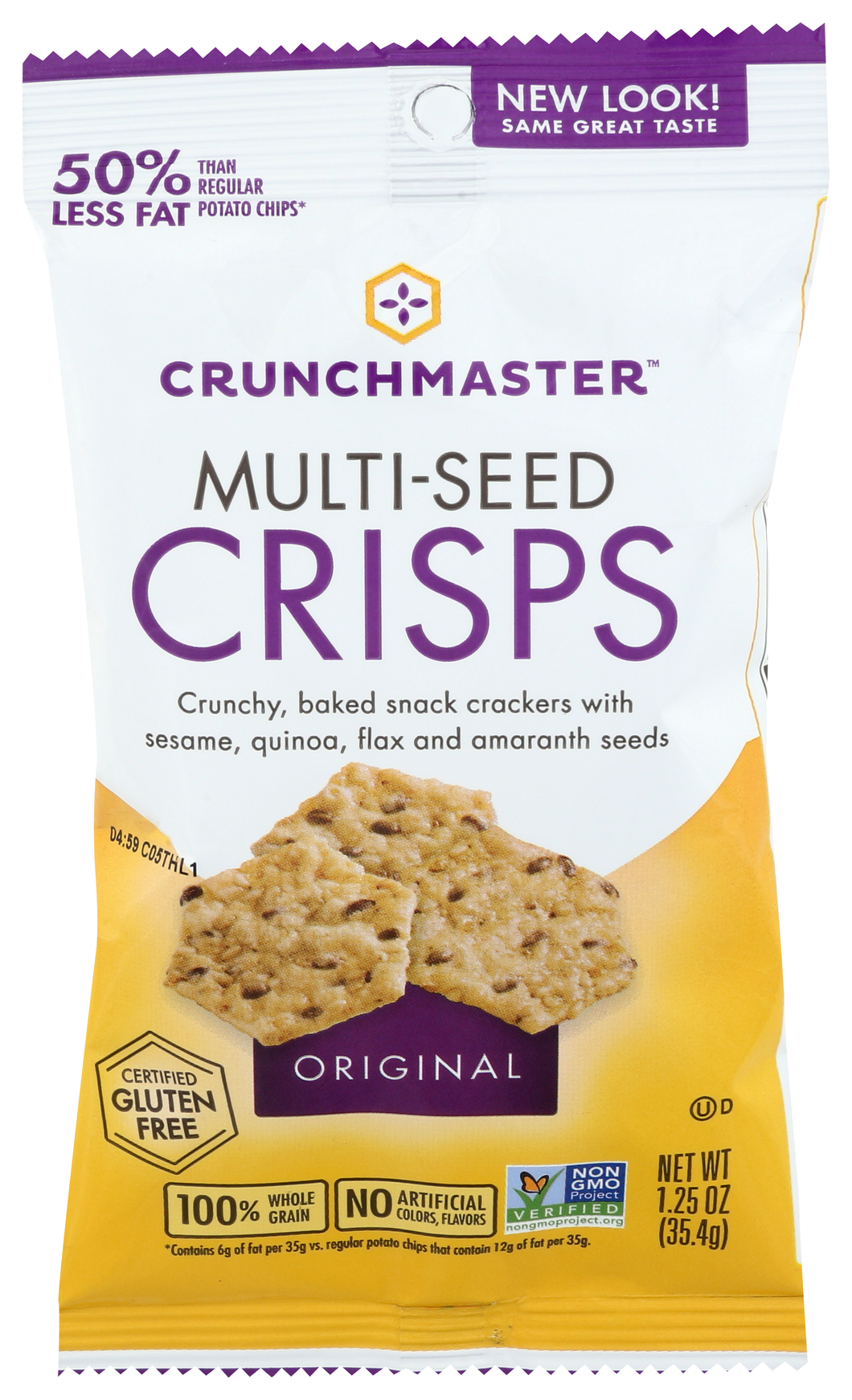 Crunchmaster Multi-Seed Crisps Original