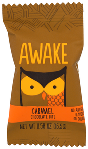 Awake Caffeinated Caramel Chocolate Bite