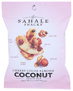 Sahale Cherry Cocoa Almond Coconut Snack Mix