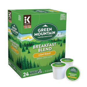 Premium Snack Box + Breakfast Blend KCups (24 count)