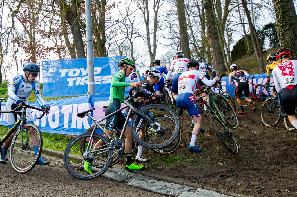 Namur Cyclocross World Cup 2020 action