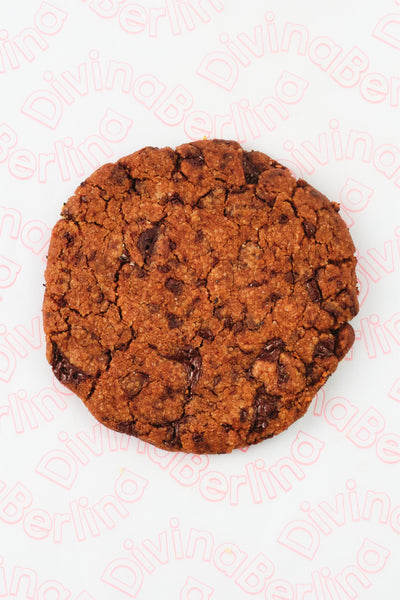 Cookie con chocolate
