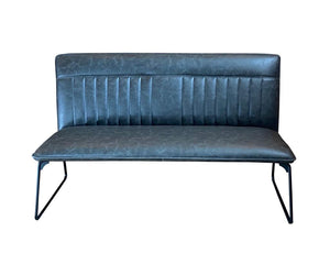Leather 'Camden Bench' Available in 2 Colours