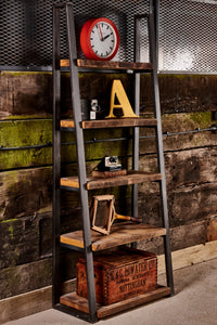 Industrial 'Lean To' Shelving Unit
