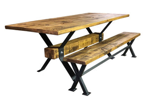 Reclaimed 'Industry' Table
