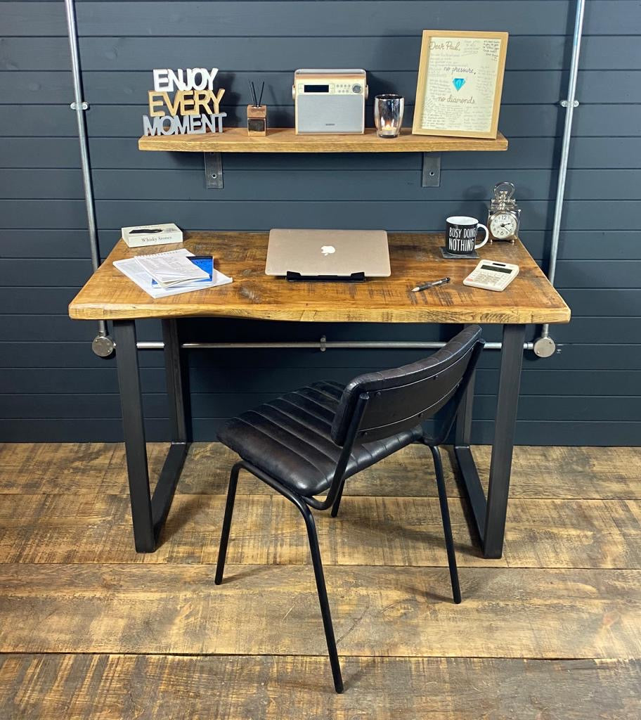 *Free 72hr Delivery Service* Industrial 'U Base' Home/Office Desk