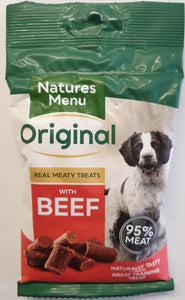 Natures Menu Training Treats - Beef - Food for dogs, cats and other pets online | Northampton Raw Dog Food!