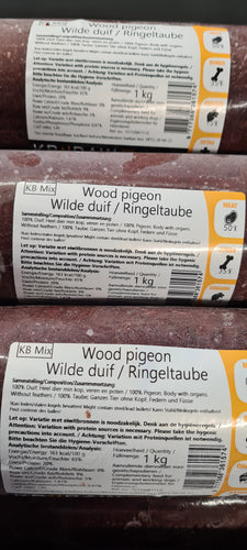 Wood Pigeon 1kg - Food for dogs, cats and other pets online | Northampton Raw Dog Food!