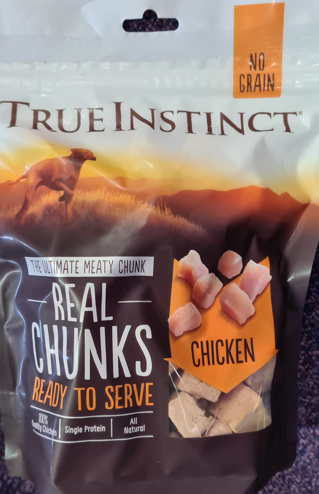 True Instinct Real Chunks Freeze Dried. Chicken. 250g - Food for dogs, cats and other pets online | Northampton Raw Dog Food!