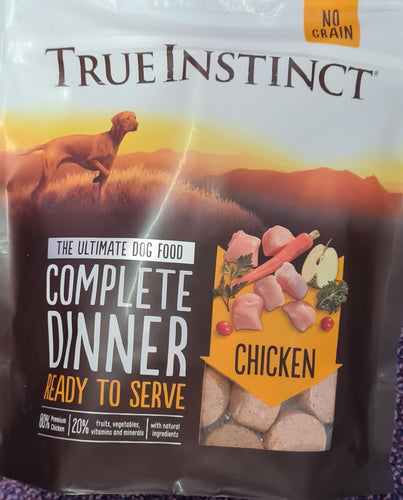 True Instinct Freeze Dried Complete Dinner. Chicken 120g - Food for dogs, cats and other pets online | Northampton Raw Dog Food!