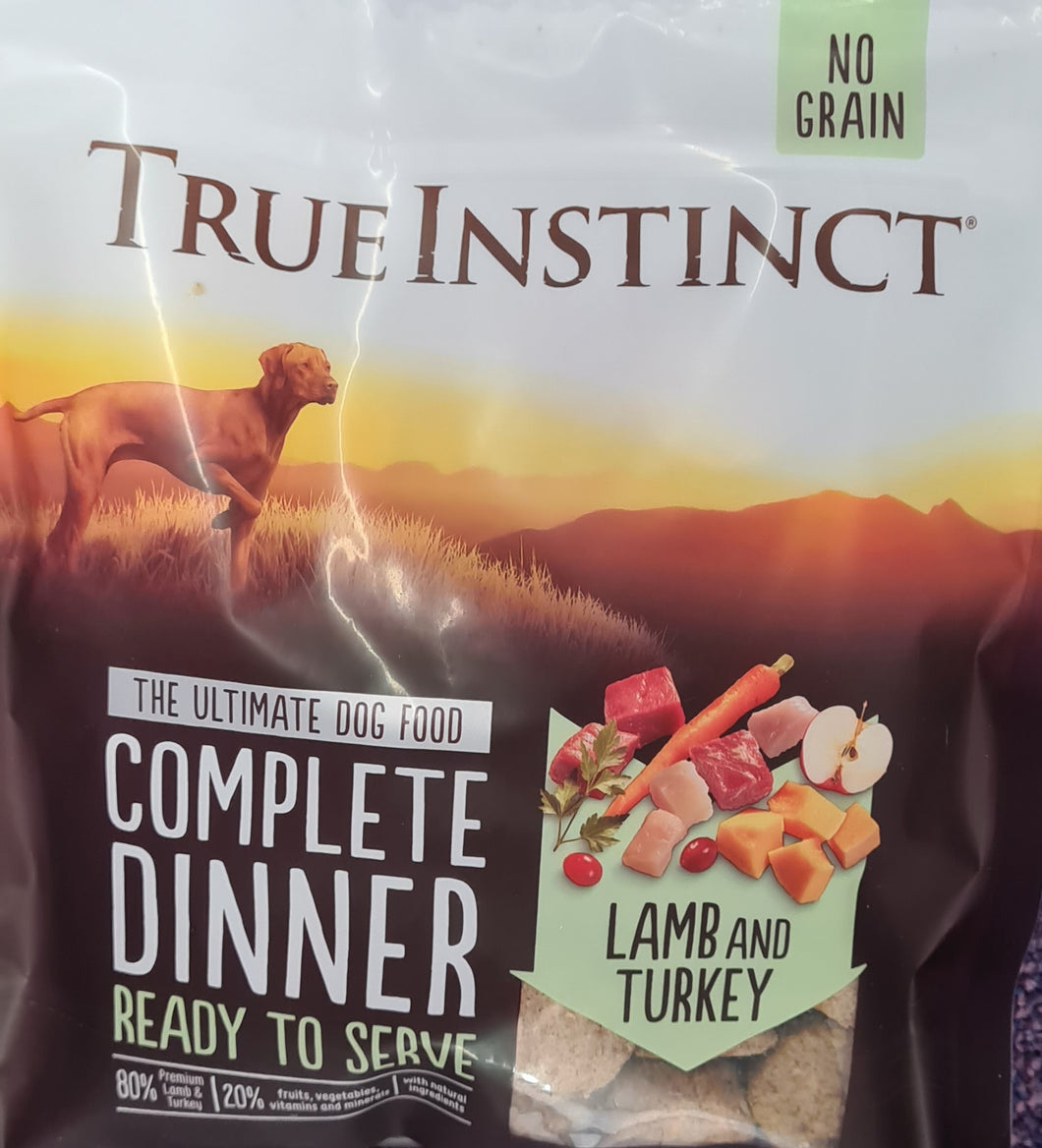 True Instinct Freeze Dried Complete Dinner. Lamb & Turkey  120g - Food for dogs, cats and other pets online | Northampton Raw Dog Food!