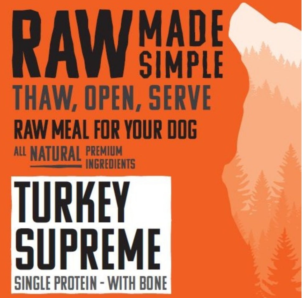 Turkey Supreme - Food for dogs, cats and other pets online | Northampton Raw Dog Food!