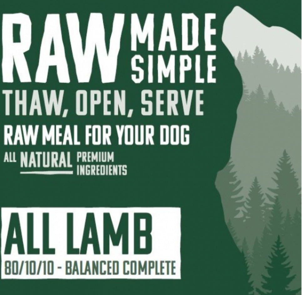 All Lamb - Food for dogs, cats and other pets online | Northampton Raw Dog Food!