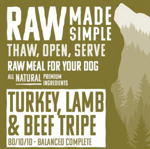 Turkey, Lamb & Beef Tripe - Food for dogs, cats and other pets online | Northampton Raw Dog Food!
