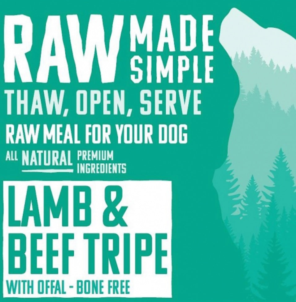 Lamb & Beef Tripe - Food for dogs, cats and other pets online | Northampton Raw Dog Food!