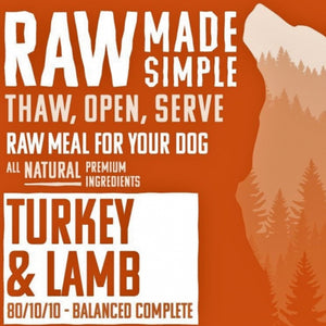 Turkey & Lamb Mince - Food for dogs, cats and other pets online | Northampton Raw Dog Food!