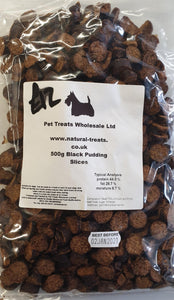 Training Treats - Black Pudding 500g - Food for dogs, cats and other pets online | Northampton Raw Dog Food!