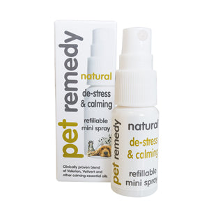 Pet Remedy - Mini Calming Spray - Food for dogs, cats and other pets online | Northampton Raw Dog Food!