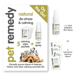 Pet Remedy - On the Go/Travel Essentials - Food for dogs, cats and other pets online | Northampton Raw Dog Food!