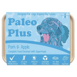 Paleo Plus Pork & Apple - Food for dogs, cats and other pets online | Northampton Raw Dog Food!