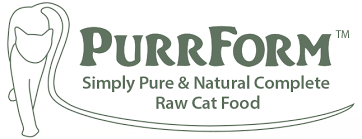 Purrform (Cat Food) - Chicken, Heart, Liver & Gissard - Food for dogs, cats and other pets online | Northampton Raw Dog Food!