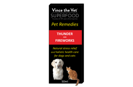 Vince the Vet - Thunder/Fireworks - Food for dogs, cats and other pets online | Northampton Raw Dog Food!