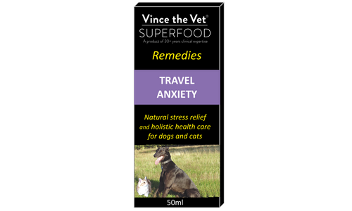 Vince the Vet - Travel Anxiety - Food for dogs, cats and other pets online | Northampton Raw Dog Food!