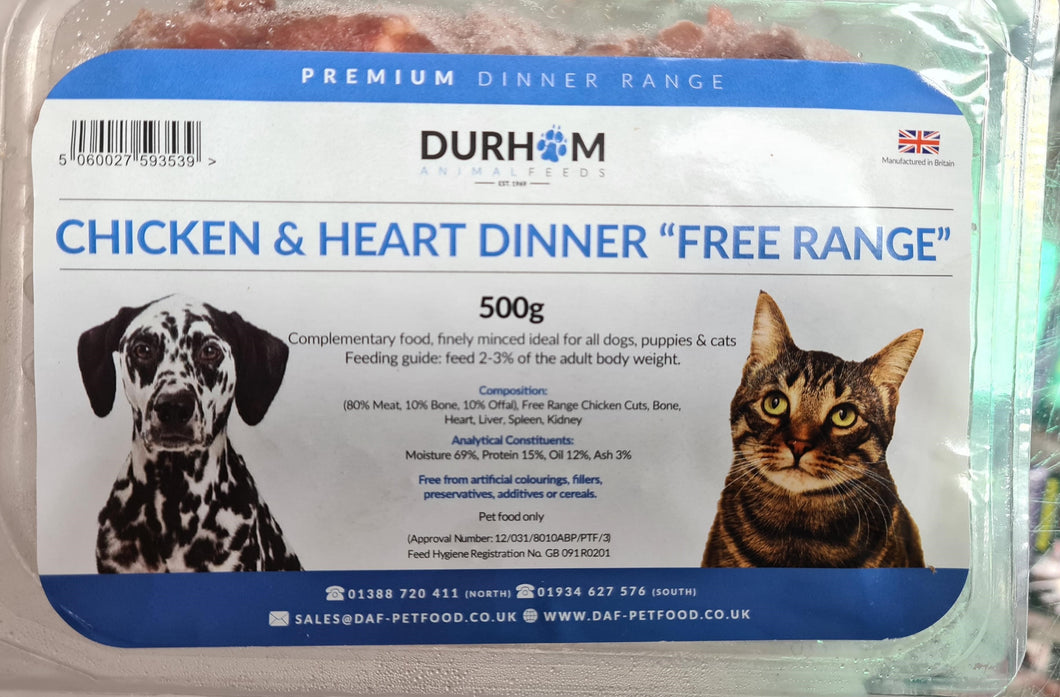 Durham Cat Food - Food for dogs, cats and other pets online | Northampton Raw Dog Food!