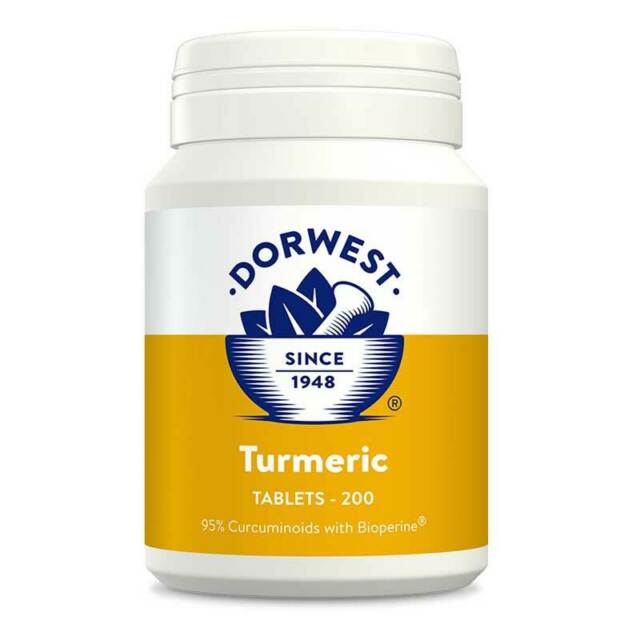 Dorwest - Turmeric Tablets (100 tablets) - Food for dogs, cats and other pets online | Northampton Raw Dog Food!