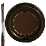 Where Theres Taupe Theres Hope Organic Brow Pomade In Dark Taupe w/ Eyebrow Brush