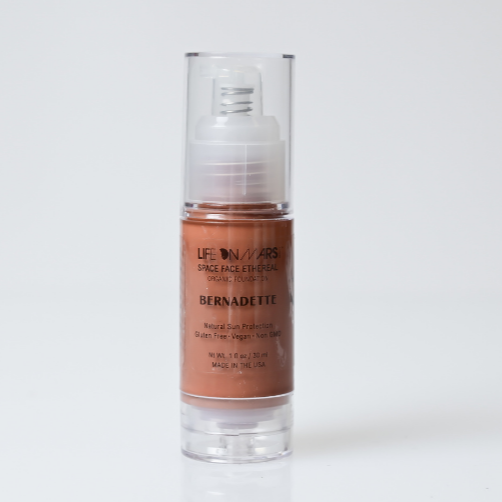 Space Face Ethereal Organic Liquid Foundation – Bernadette