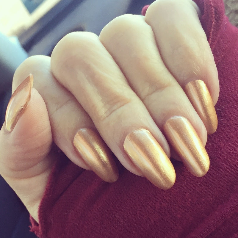 Halo- Satin Gold